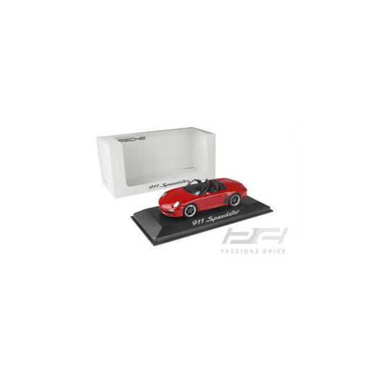PORSCHE 911/997II SPEEDSTER ROUGE 1/43 MINICHAMPS