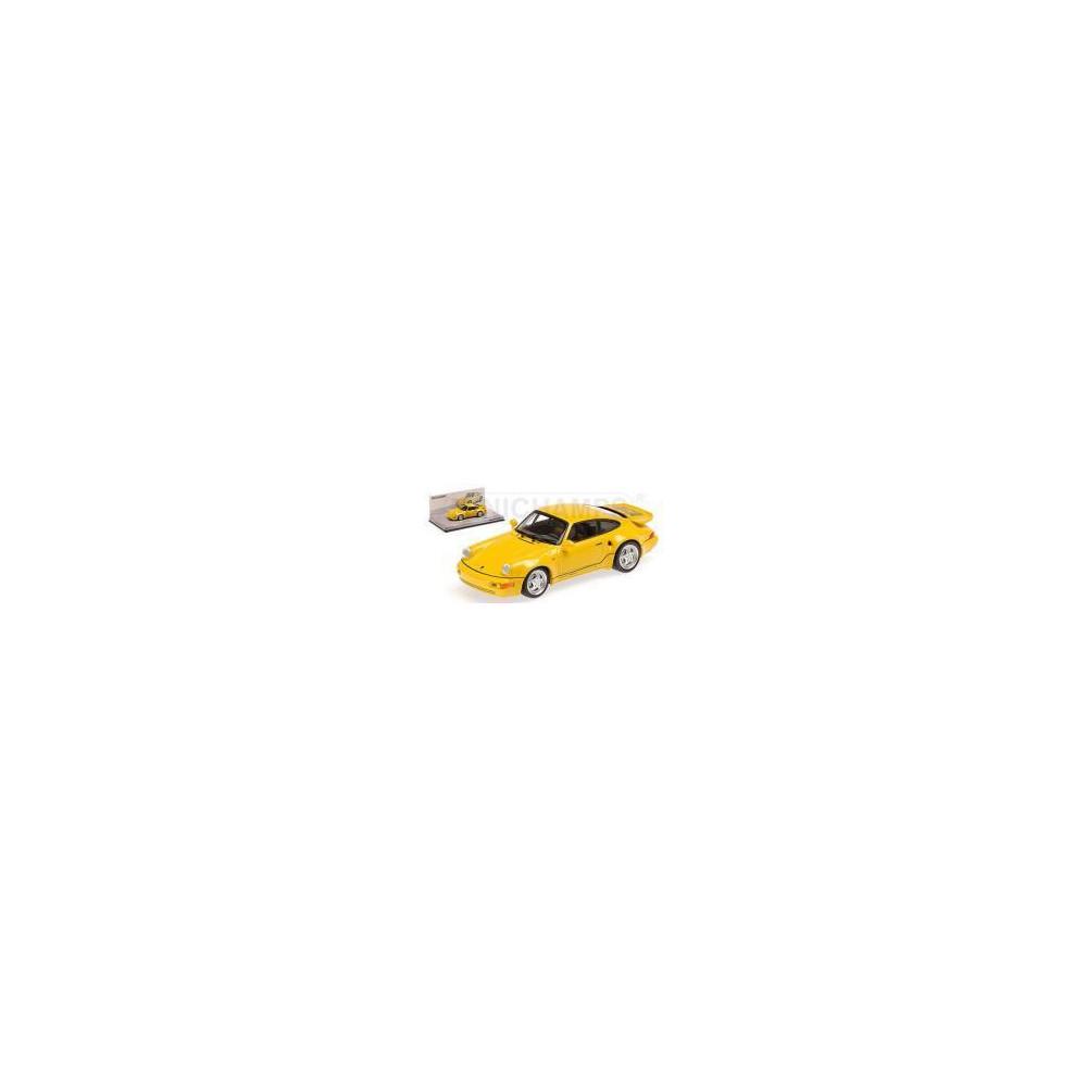 PORSCHE 911 TURBO S 3.3 1992 1/43 MINICHAMPS