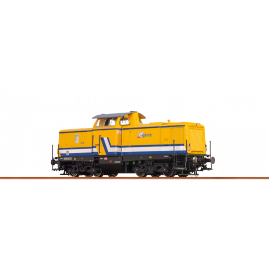 LOCO DIESEL SNCF E-GENIE V100 1/87 BRAWA