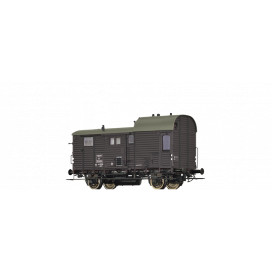 FOURGON A BAGAGES M SNCF 1/87 HO BRAWA