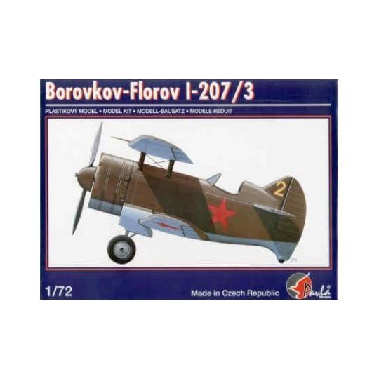 BOROVKOV - FLOROV I - 207/3 1/72 PAVLA MODELS