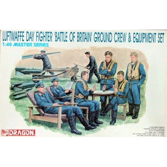 EQUIP SOL LUFTWAFFE BATTLE OF BRITAIN 1/35 DRAGON