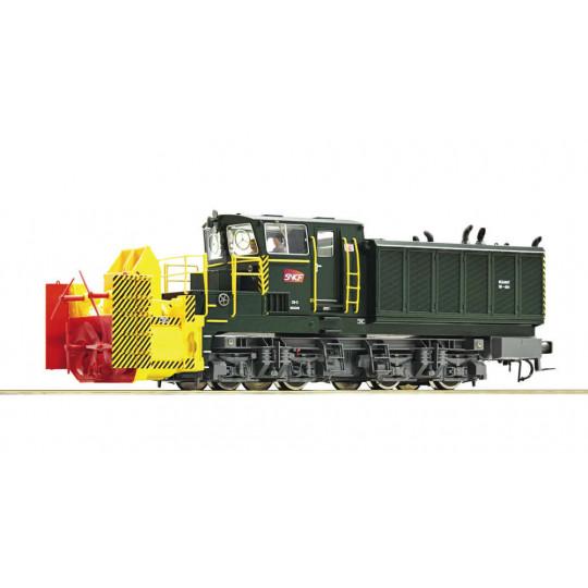LOCO DIESEL CHASSE-NEIGE DIGITAL SON SNCF BEILHACK HO ROCO