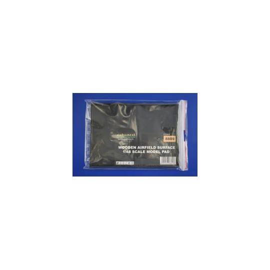 PLAQUES PSP ATTERRISSAGE IMIT BOIS 1/48 EDUARD