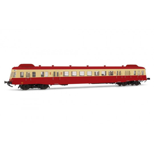 AUTORAIL DIESEL X 2400 SNCF DCC SON ESU 1/87 HO JOUEF