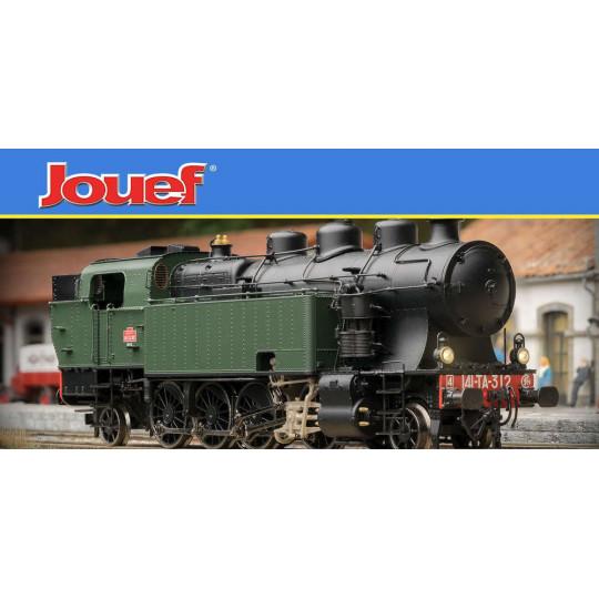 Locomotive Vapeur DIGITAL SON 141 TA 481 SNCF HO JOUEF