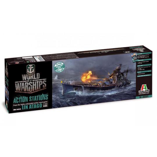 "Atago ""World of Warships"" 1/700 ITALERI"