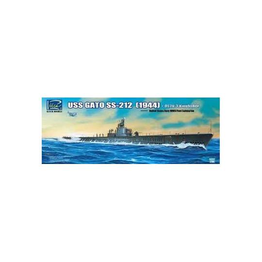 USS GATO SS-212 1944 1/200 + KINGFISHER RIICH.MODELS