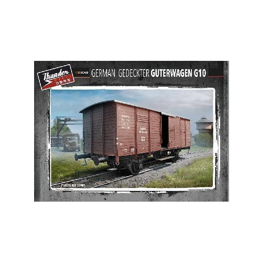 WAGON COUVERT ALLEMAND G10 1/35 THUNDER