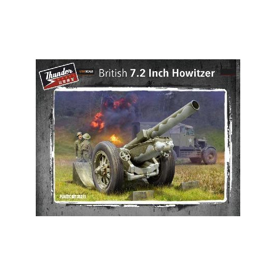 OBUSIER ANGLAIS 7.2 INCH HOWITZER 1/35 THUNDER