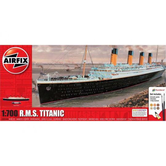 R.M.S. TITANIC 1/700 KIT COMPLET AIRFIX