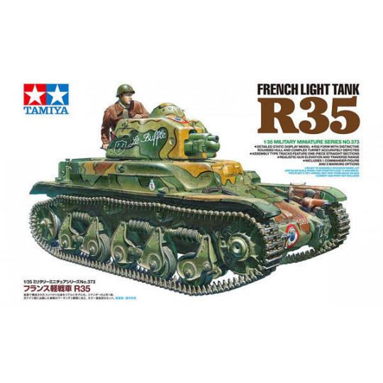 CHAR LEGER FRANCAIS R35 1/35 TAMIYA