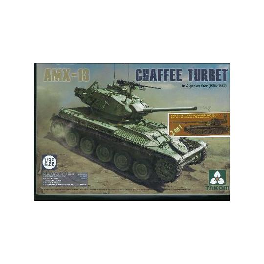 AMX 13 GUERRE ALGERIE +  ALLEMAGNE 1970-1980 1/35 TAKOM