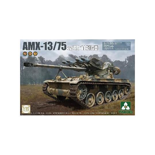 CHAR FRANCAIS AMX-13/75 1/35 TAKOM
