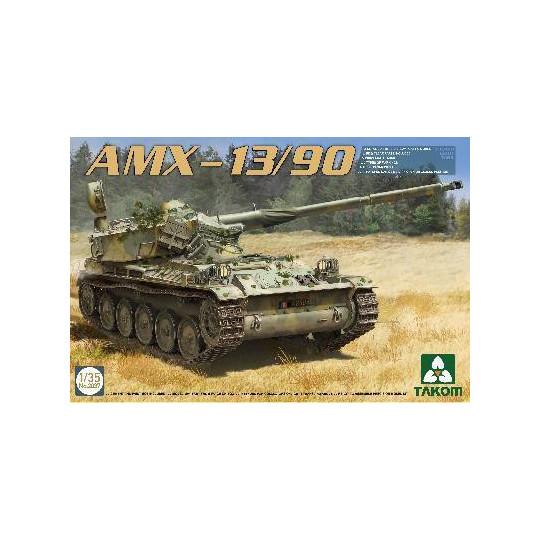 CHAR FRANCAIS AMX-13/90 1/35 TAKOM