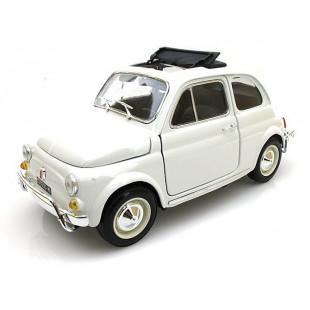 FIAT 500L 1968 BLANCHE 1/18 BURAGO