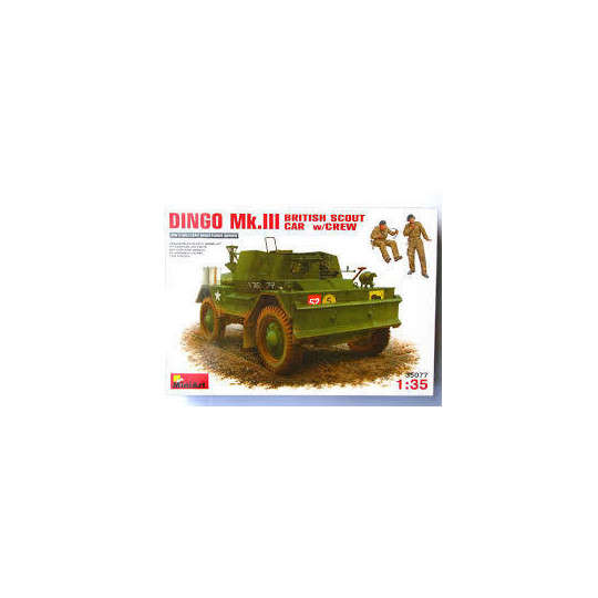 DINGO Mk.III AVEC PERSONNAGES ANGLAIS 1/35 MINIART