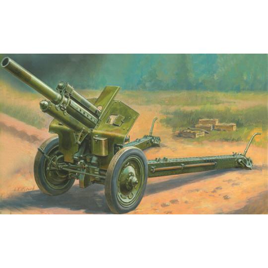 Obusier Soviétique M30 1/35 ZVEZDA