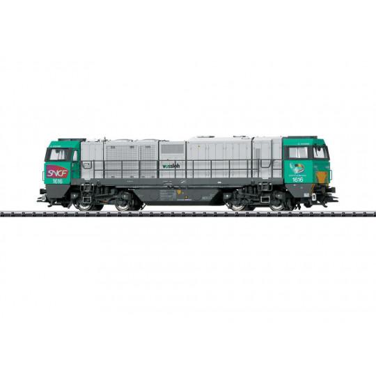 LOCOMOTIVE DIESEL DIGITAL SON SNCF BB G2000 HO 1/87 TRIX