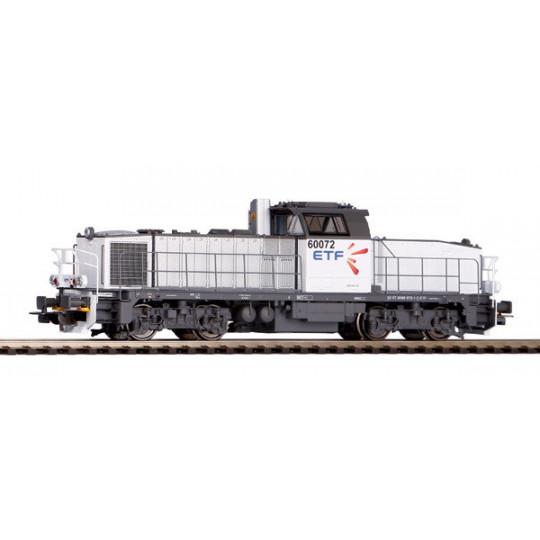 LOCOMOTIVE DIESEL SNCF ETF BB 60000 HO 1/87 PIKO EXPERT