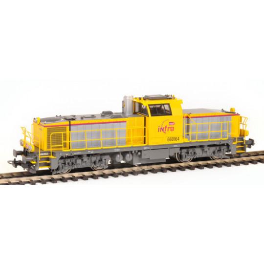 Locomotive DIESEL SNCF INFRA BB 60000 HO 1/87 PIKO EXPERT