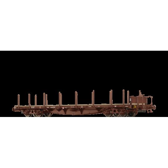 WAGON PLAT BOGIES RRYWV SNCF HO 1/87 BRAWA