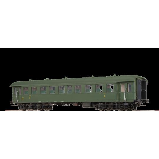 VOITURE à BOGIES SNCF BASTILLE 2Cl B HO 1/87 BRAWA