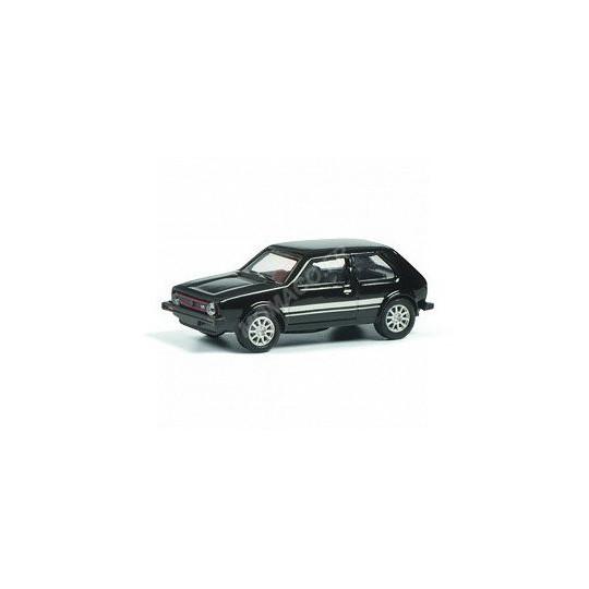 VOLKSWAGEN GOLF 1 GTi NOIRE 1/87 SCHUCO