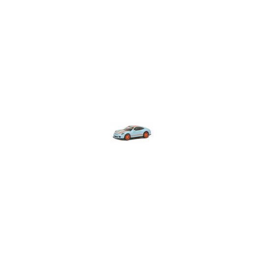 PORSCHE 911 R BLEUE/ORANGE 1/87 SCHUCO