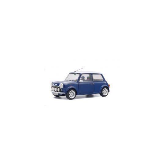 MINI COOPER SPORT 1997 TAHITI BLUE 1/18 SOLIDO