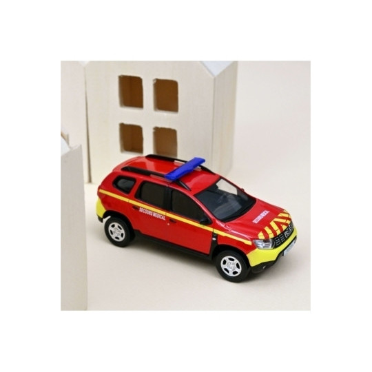 DACIA DUSTER 2018 POMPIERS SECOURS MEDICAL 1/43 NOREV