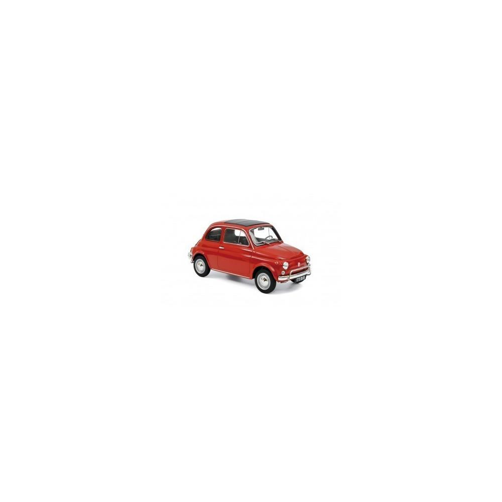FIAT 500L 1968 CORALLO ROUGE 1/18 NOREV