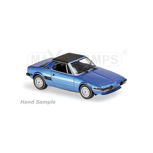 FIAT X1/9 BLEU 1974 1/43 MAXICHAMPS