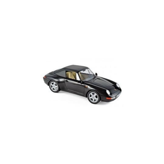 PORSCHE 911 CAB 1994 NOIRE 1/18 NOREV