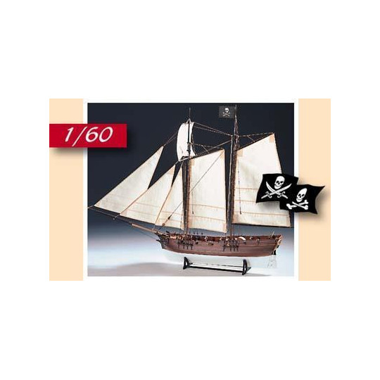 ADVENTURE - NAVIRE PIRATE 1760 1/60 AMATI