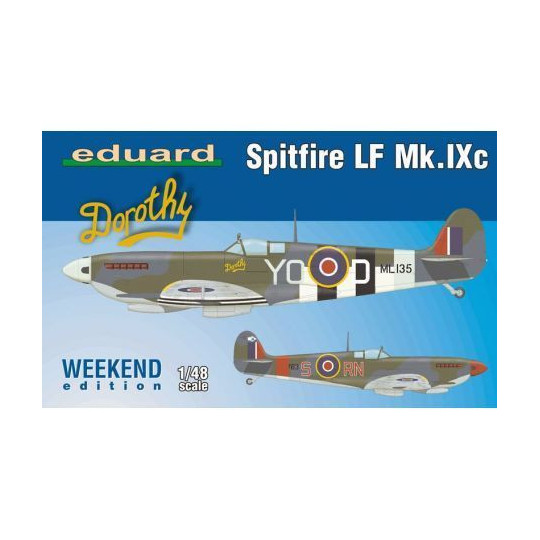 SPITFIRE LF MkIXc 1/48 EDUARD WE EDITION