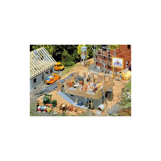 MAISON EN CONSTRUCTION - HO - FALLER
