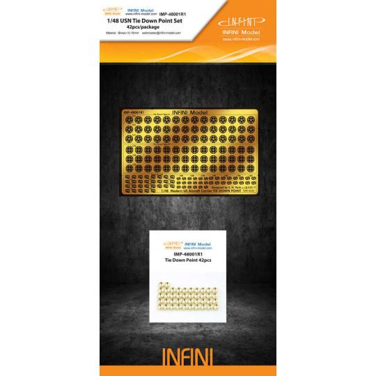 USN TIE DOWN POINT SET 1/48 INIFINI MODEL