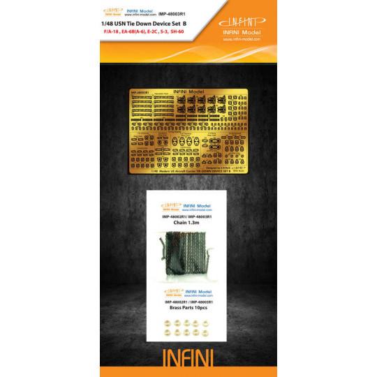 USN TIE DOWN POINT SET B 1/48 INIFINI MODEL
