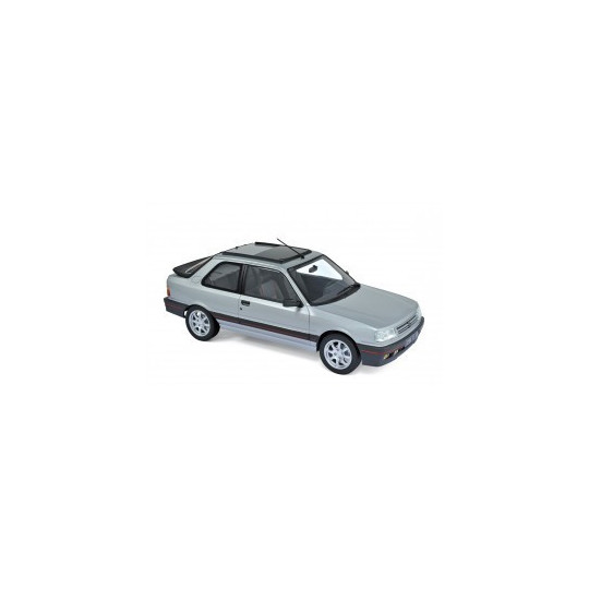 PEUGEOT 309 GTi 1987 GRIS METAL 1/18 NOREV
