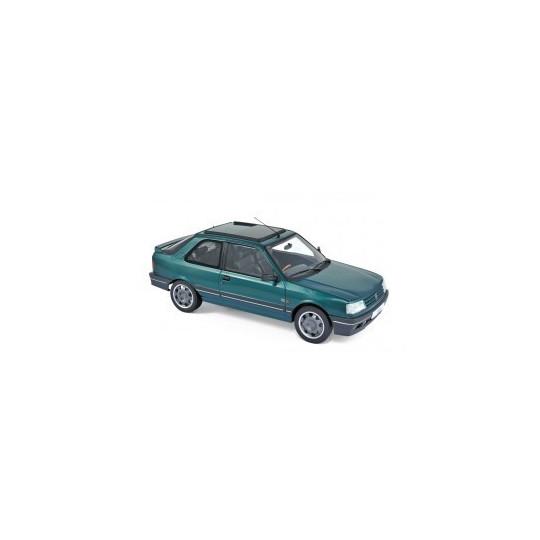 PEUGEOT 309 GTi 1991 GOODWOOD GREEN 1/18 NOREV