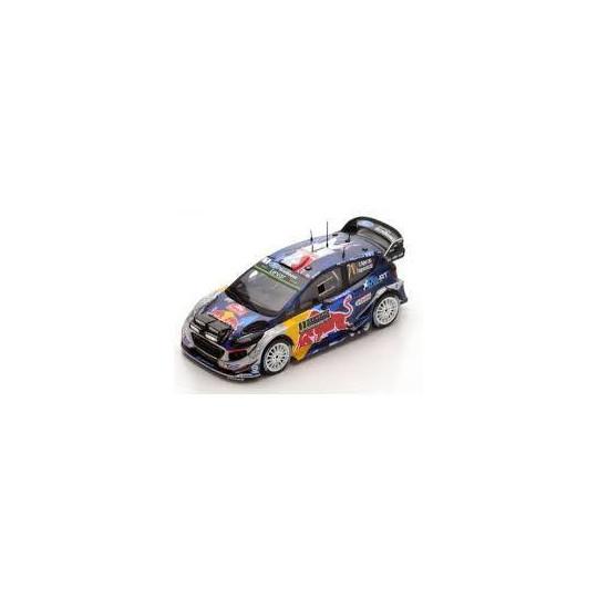 Ford Fiesta n°1 Ogier Vainqueur Monte-Carlo 2017 1/43 SPARK
