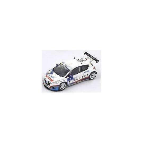 Peugeot 208 GTI N°215 24h Nurburgring 1/43 SPARK