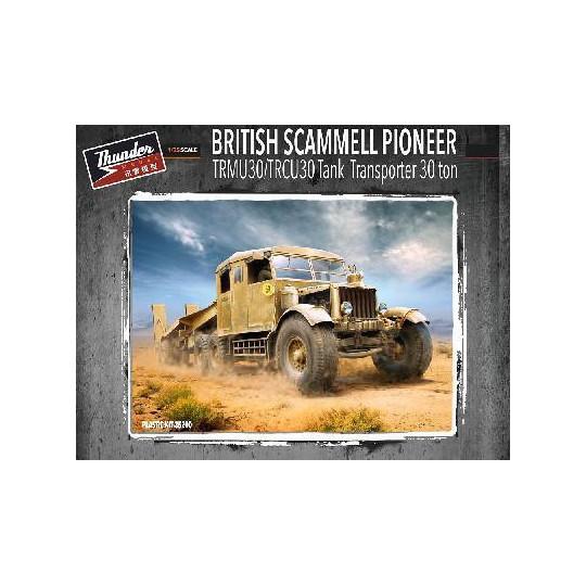 """SCAMMELL PIONEER"" TRMU30/TRCU30 PORTE-CHAR 30t ANGLAIS 1942 1/35 THUNDER"