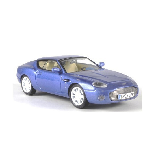 ASTON MARTIN DB7 ZAGATO BLEU METAL 1/43 WHITE BOX