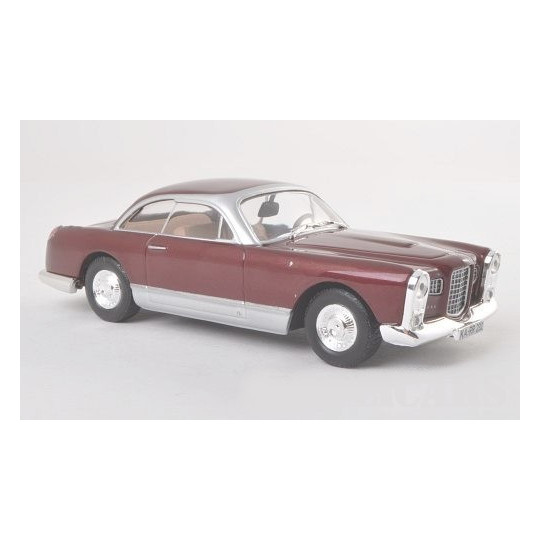 FACEL VEGA HK500 ROUGE FONCE 1/43 WHITE BOX
