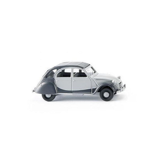 CITROEN 2CV CHARLESTON GRISE 1/87 WIKING