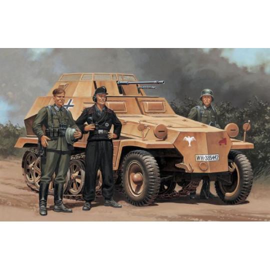 Sd. Kfz 250/9 SEMI CHENILLE...