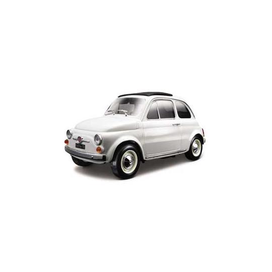 FIAT 500F 1965 BLANCHE 1/18...