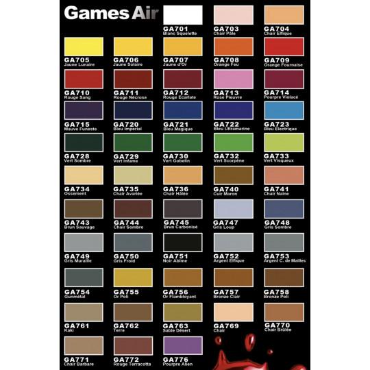 Peintures Games Air